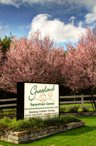 Graceland Equestrian Sign